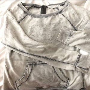 """""""Forever 21"""" Light Gray Wash Sweater (S/M)"""